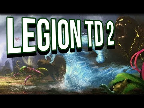 UNDEAD ARMY Defends the King - LEGION TD 2 - YouTube