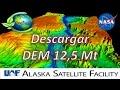 Como Descargar DEM de 12 Mt | NASA