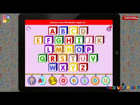 starfall abcs by starfall education free app learning alphabets phonics kids ipad part 1 review - Wwwstarfallcom Free Download