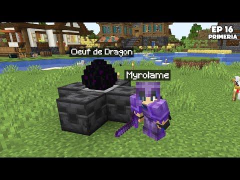 On a fait l'Ender Dragon à 10 ! (c'était le bordel) - Episode 16 Primeria S3 - Minecraft Survie 1.17