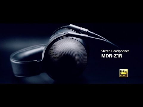 b06e8d60146 Sony Signature Series Headphones MDR-Z1R Official Product Video ...