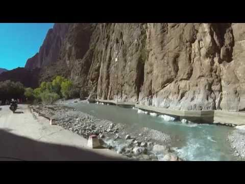 Motorcycle ride in Morocco - The Todgha Gorge