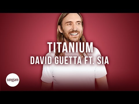 David Guetta - Titanium Ft. Sia (Official Karaoke Version) | SongJam