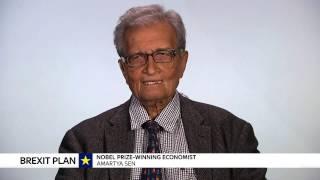 Nobel Prize-winning Economist Amartya Sen Worried About Donald Trump's Protectionism