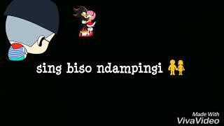 Status WA lagu Bisone Mung Nyawang