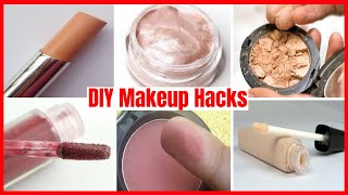 DIY Makeup Hacks! 6 Eyeshadow Homemade MAKEUP PRODUCTS | Easy MAKEUP Recipe ideas for DIY Cosmetics
