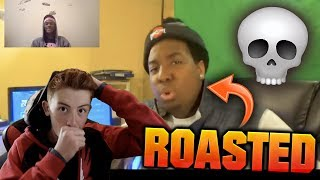 BUCKEYE GOT ROASTED! REACTING TO REACTIONS OF MY EA DISS TRACK! (garbAgE - YF)