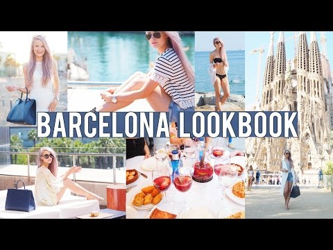 Barcelona Style Lookbook | Inthefrow