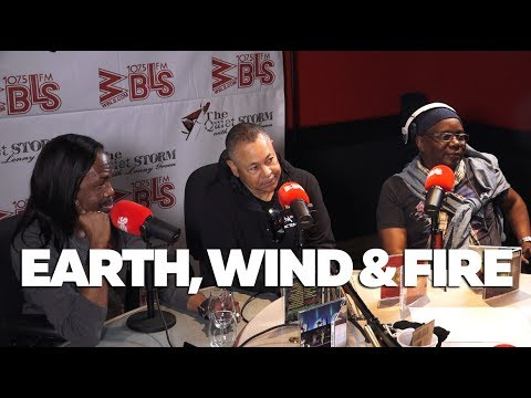 Earth, Wind & Fire Talk Maurice White Legacy, Staying Together After 40 + Years + New Tour