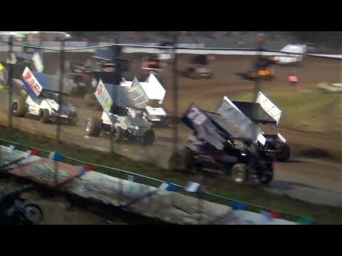 ISCS Sprints Cars @ Cottage Grove Speedway 2018