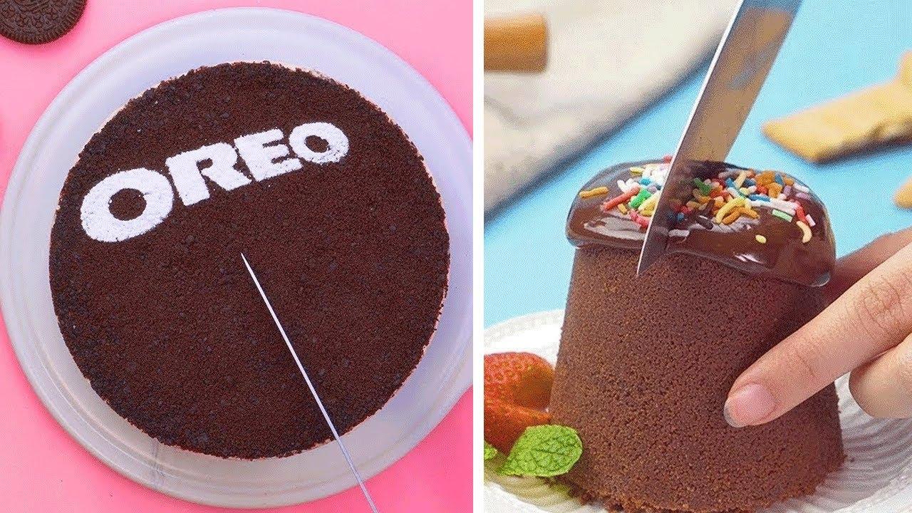 Oddly Satisfying Chocolate Cake Decorating Ideas | So Yummy Chocolate Cake Compilation