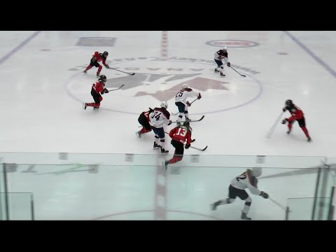 2016 Women's Under-22 Series   Game 1 - USA 1, Can 2