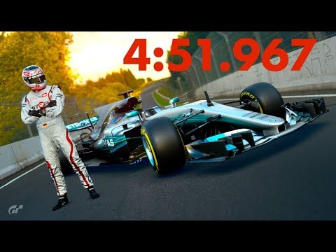 GT Sport - Mercedes F1 Nordschleife - 4:51.967 // World Record