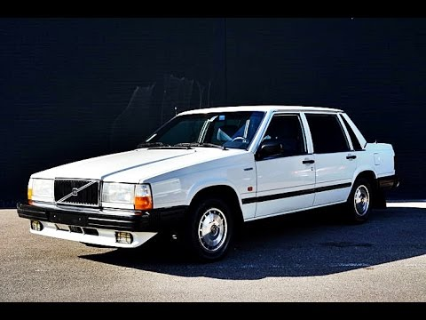 volvo 740 gl 2000 sedan model year 1985 youtube. Black Bedroom Furniture Sets. Home Design Ideas