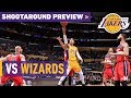 Shootaround Preview: Wizards (10/25/17)