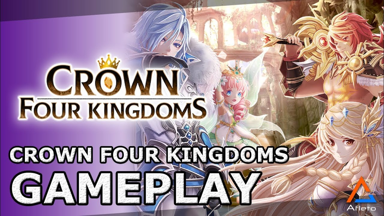 Crown Four Kingdoms Gameplay | MMORPG | Android/iOS - YouTube