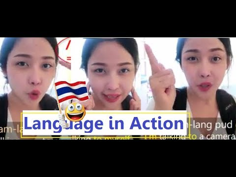 When I Am Sick! Thai Language In Action  Ep. 1