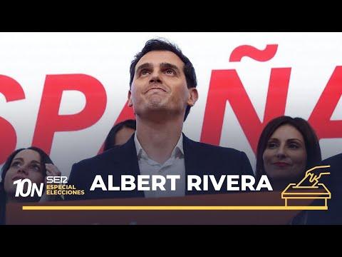 10-N: El Discurso De Albert Rivera Tras La Debacle Electoral De Ciudadanos