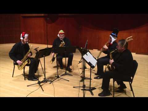 Texas Saxophone Quartet - Christmas Medley