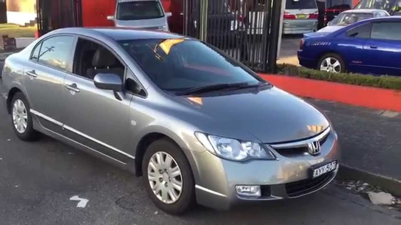 Honda Civic 2007 For Sale >> Honda Civic 2006 2007 Vti Sedan For Sale Www Edwardlees Com Au