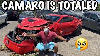 I TOTALED My 2019 Camaro SS.. Life Ruined !