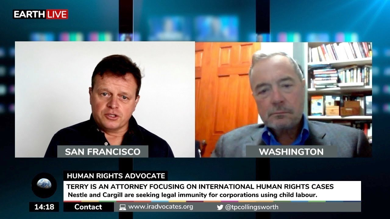 Terry Collingsworth on his upcoming Supreme Court hearing with Nestle and Cargill
