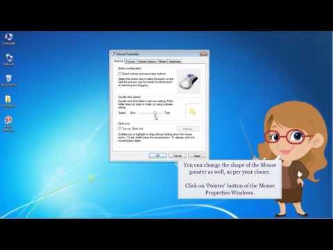 Windows 7- Mouse Settings