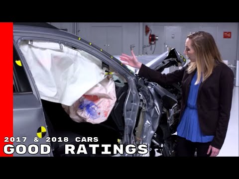 10 Midsize 2017 & 2018 Cars Earn Good Ratings For Passenger side Crash Protection