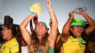 مشجعات فرنسيات هولانديات و برازيليات جميلات جدا جدا