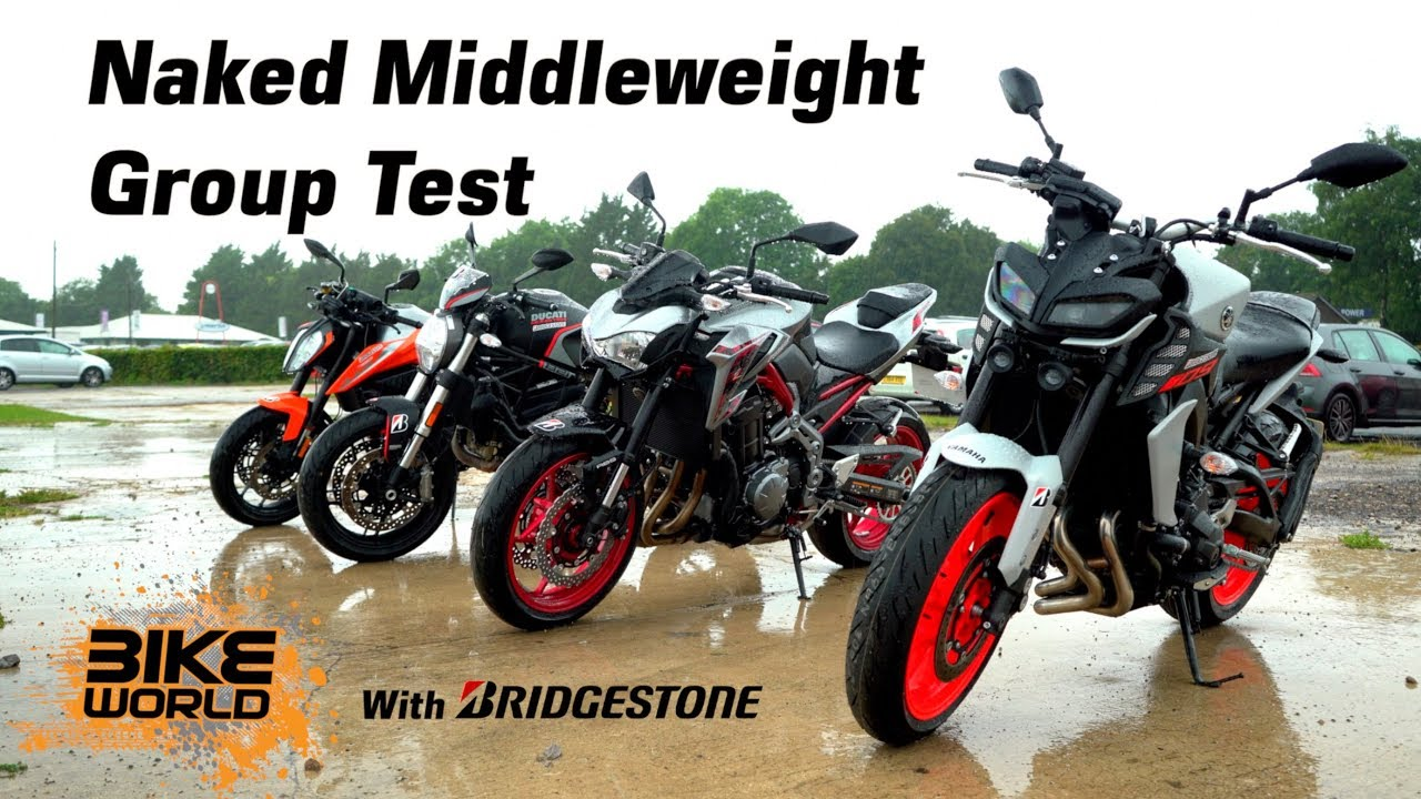 2019 Naked Middleweight Bike Group Test   4K
