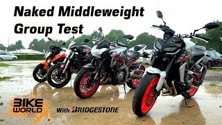 2019 Naked Middleweight Bike Group Test | 4K