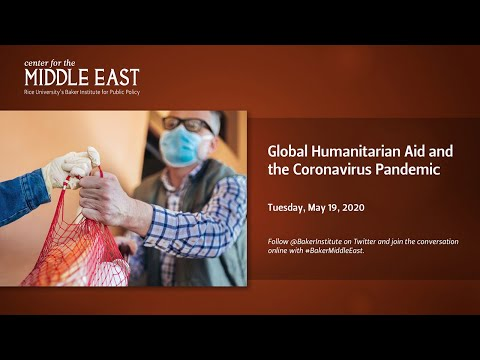 Global Humanitarian Aid and the Coronavirus Pandemic