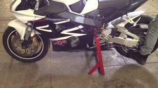 Подкат для мотоцикла центральный