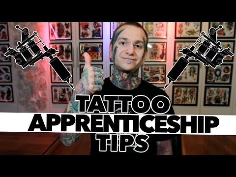 HOW TO GET TATTOO APPRENTICESHIP / TIPS - YouTube