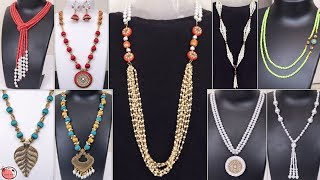 10 Easy DIY Necklace Idea !!! Handmade Jewellery Necklace