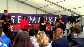 Whiskey In The Jar/Dance With The Neville - The Severn Ukes at Shrewsbury Food Festival 28/06/2014 Mp3