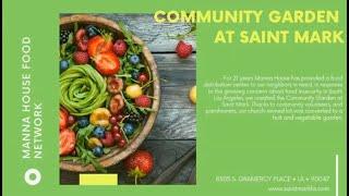 Gary Williams | Manna House Food Network | 2020 C2 Cohort Presentation