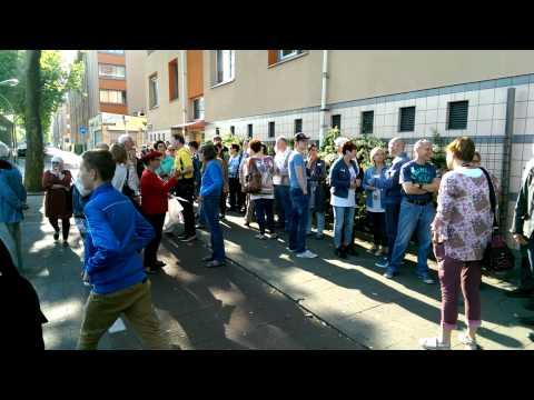 Actie Bus 21 moet in Geuzenveld blijven 2015, deel 1 van 4