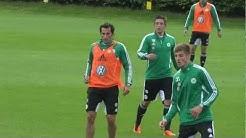 VfL Wolfsburg - Kevin Pannewitz - Probetraining