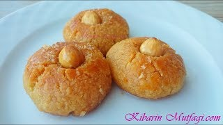 Hintpare tarifi  - Şekerpare tadında irmikli hintpare  tatlısı nasıl yapılır - Tatlı tarifleri
