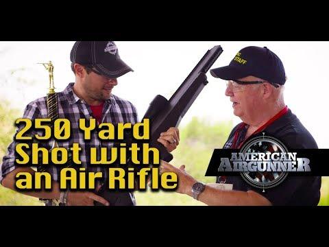 250 Yard Shot with an Air Force Texan Air Rifle : American Airgunner