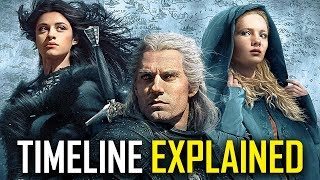 The Witcher Timeline Explained | Full Order Of The Netflix TV Show