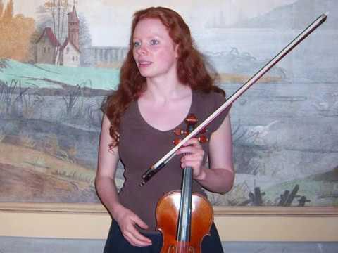 "Simone Fontanelli - 3 pieces from ""SPOTS"" (Clip 2), for violin. Fiona Robertson, violin"