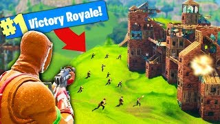 MASSIVE 20 vs 20 BATTLE in Fortnite Battle Royale!