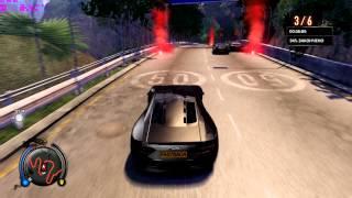 Sleeping Dogs / Street Racing / A Class / ETALON / Jumps and Crash / Extreme Graphics Settings