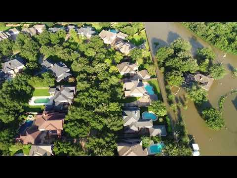 Green Trails Village, Windsor Park Estates, Baker Trail & Estates Dr in Katy after Hurricane Harvey