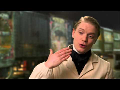 """Victor Frankenstein: Freddie Fox """"Finnegan"""" Behind The Scenes Movie Interview"""