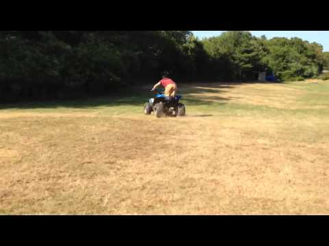 Gay Best wheelie on a ATV