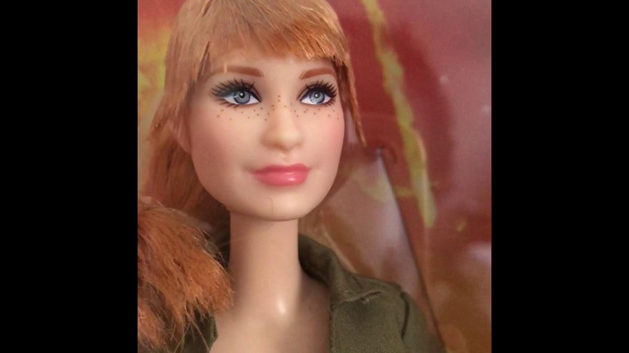 Jurassic World Toys Barbie Claire Doll Barbie Jurassic World Claire Doll