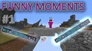 Funny Moments #1 | Hypixel Skywars